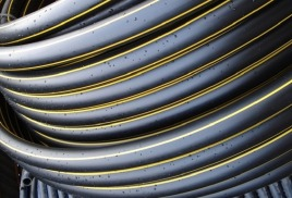 Трубы ПНД для газоснабжения, в бухтах (d20-110мм.)